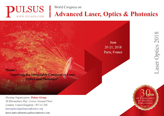 World Congress on Advanced Laser optics and Photonics
