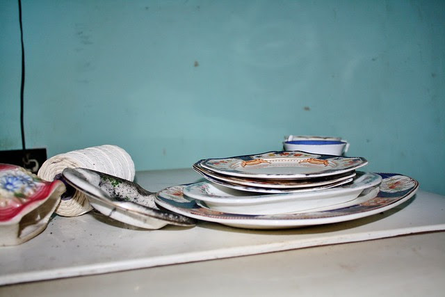 Ma Bell's dishes