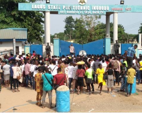 [EDUCATION] NASU shuts down LASPOTECH main campus over 'unpaid salaries'