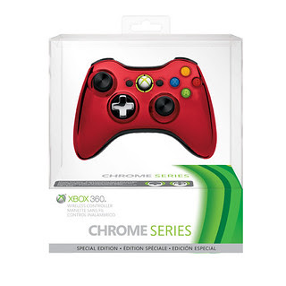 Xbox 360 Special Edition Chrome Series Wireless