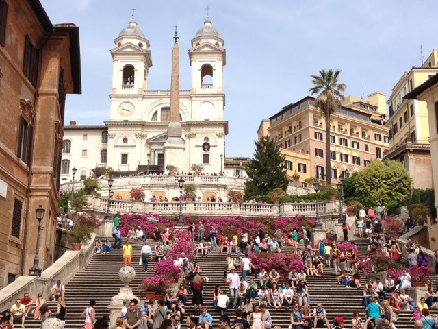 Spanish Steps Flowers May