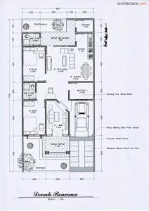 65 Gambar Desain Rumah Ukuran 7X14 Paling Keren Download