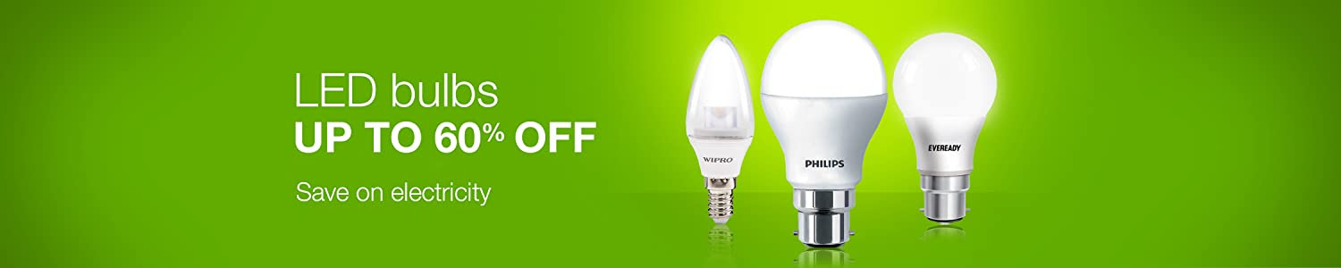 LED bulbs: Up to 60% off