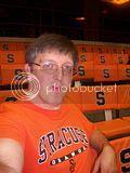self photo at Syracuse game