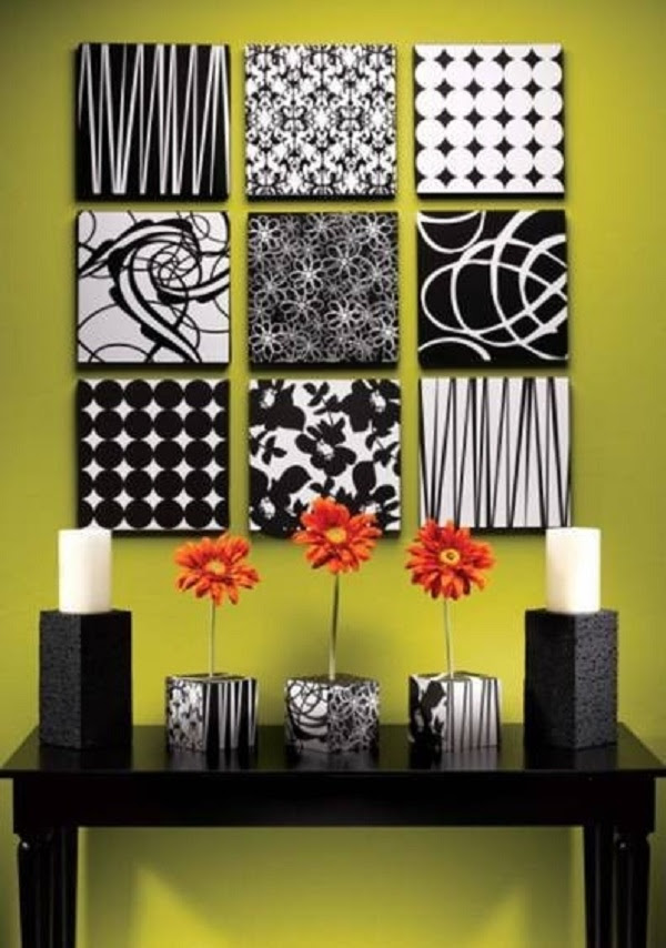 DIY Wall Art - 16 Innovative Wall Decorations