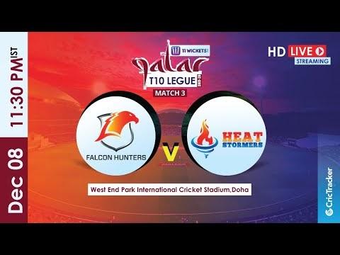 Qatar T10 Live Streaming : 3rd Match