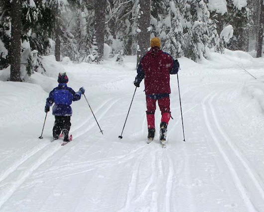 Cross-country Skiing with Children: Using Pulks and Sled