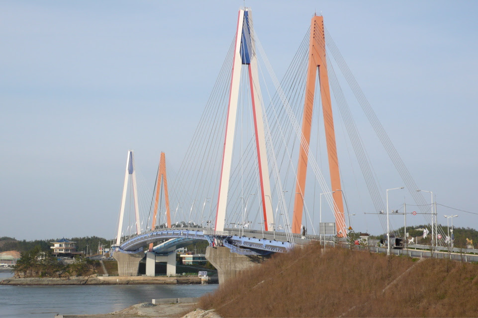 Jindo suspension bridge