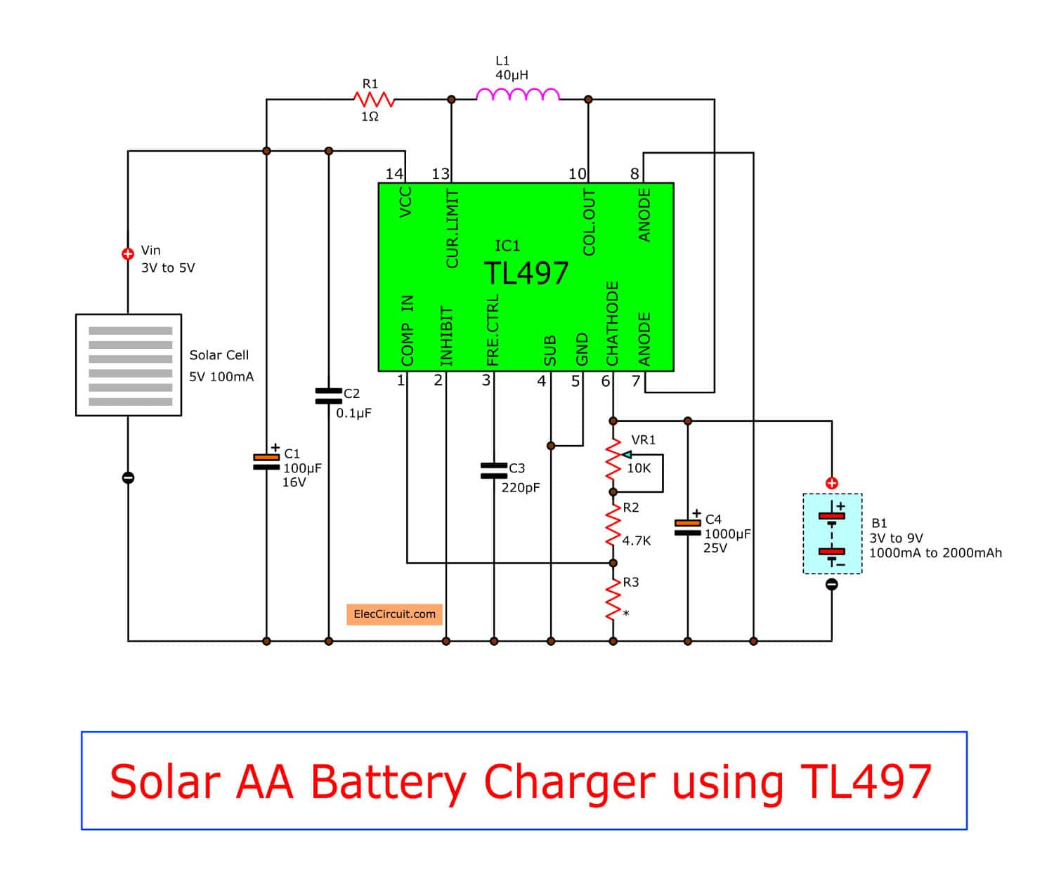 Battery Charger Booster Circuit Diagram Circuit Diagram