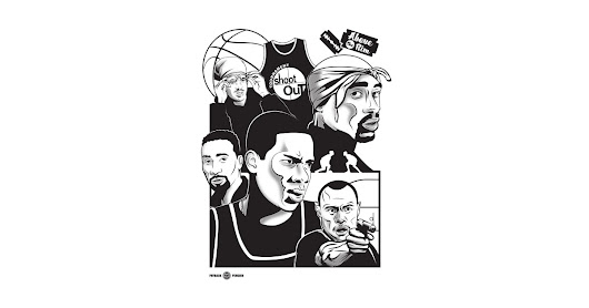 Above the Rim - Black by paybackpenguin