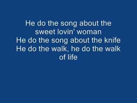 Do The Walk On By Lyrics Dire Straits