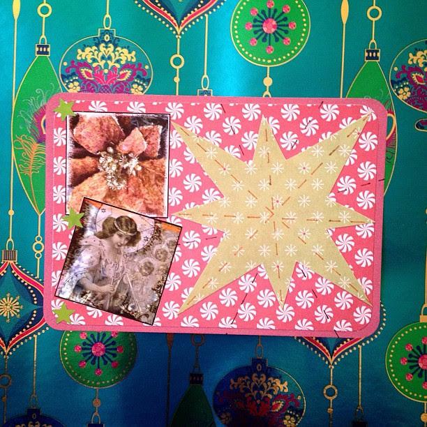 #postcard #snailmail #star #christmas