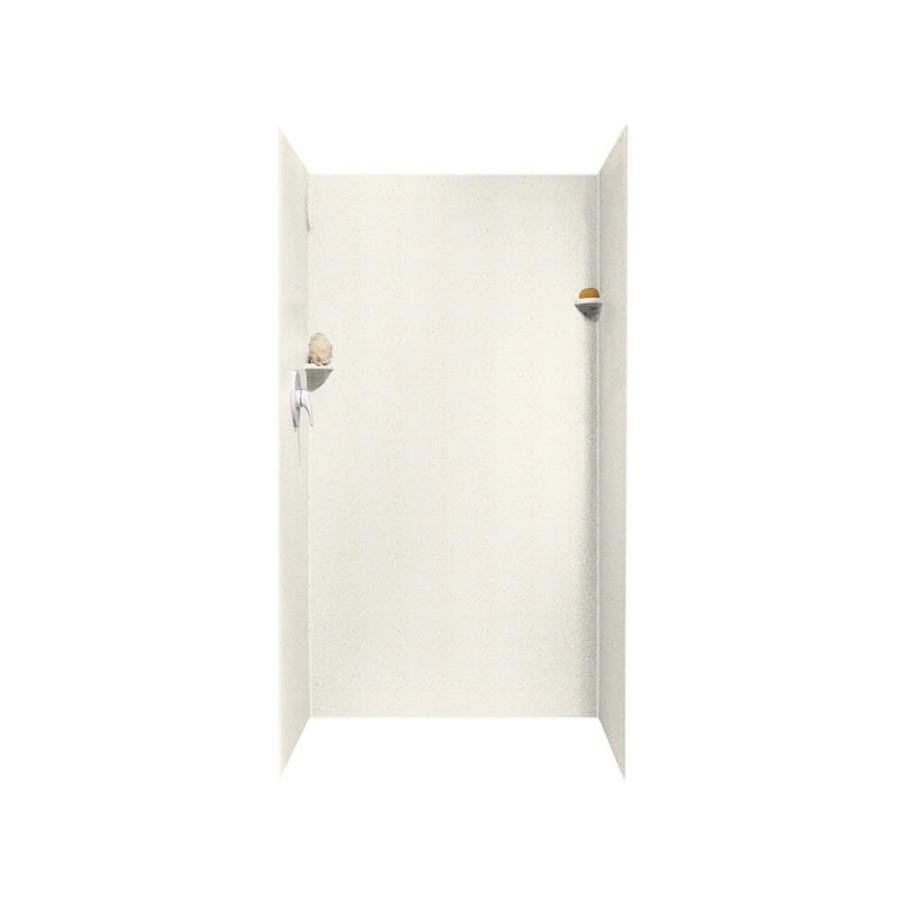 Shop Swanstone Baby's Breath Solid Surface Shower Wall ...