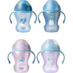 Tommee Tippee Soft Spout Trainer Sippy Cup - 2 Pack, Multicolor