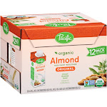 Pacific Organic Almond Non-Dairy Beverage - 12 count, 8 fl oz cartons