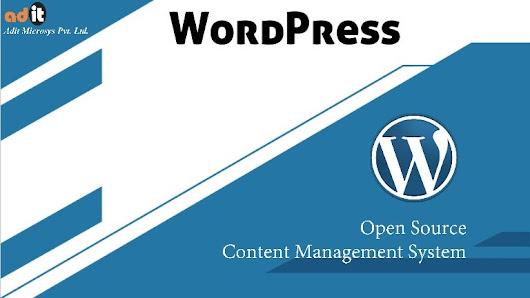 WordPress Website Development Use Open Source CMS