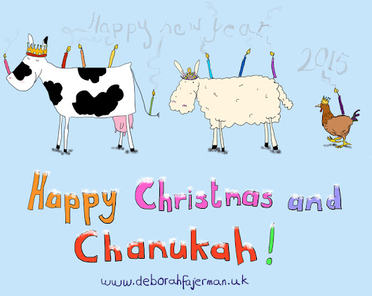 Free Christmas-Chanukah card to download