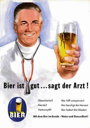 Bier ist gut sagt der Arzt ulige Bilder zum lachen