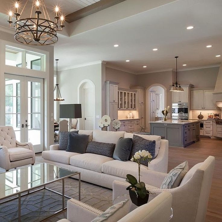 Top 5 Interior Design Ideas For A Kitchen And Living Room Combination Mosaik Blog