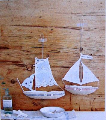 barco tecido costura bordado