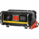 Stanley BC25BS Battery Charger with Engine Start, 25-Amp Charger and 75-Amp Starter