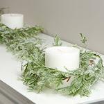 Artificial Cypress Pine Garland, 6' long, Green, Craft Supplies