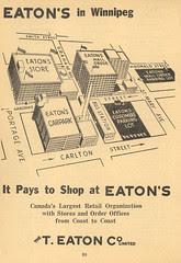Eaton's in Winnipeg (1962)