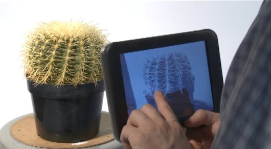 Disney creates tactile touchscreen feedback for virtual 3D objects | ExtremeTech
