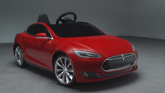 Can the new Tesla Model S for kids create a trend for the future in the mind of the younger drivers?