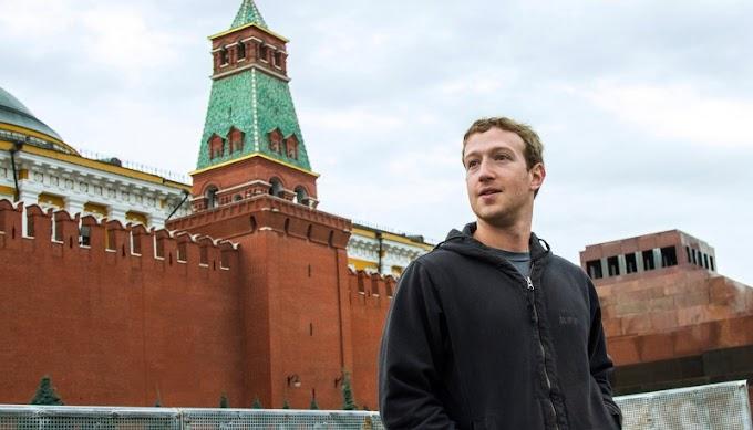 Продажный Цукерберг лег под Путина и лижет ему зад