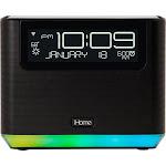 iHome - AVS16 Smart Alarm Clock with Alexa - Black