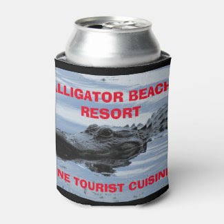 Alligator Beach Resort Can Cooler