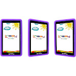 "LINSAY 7"" New Funny Tablet Kids Android 6.0 with Defender Case Dual Camera (NEW) New 8GB Purple 7 Inches (F7XHDKIDSPURPLE)"