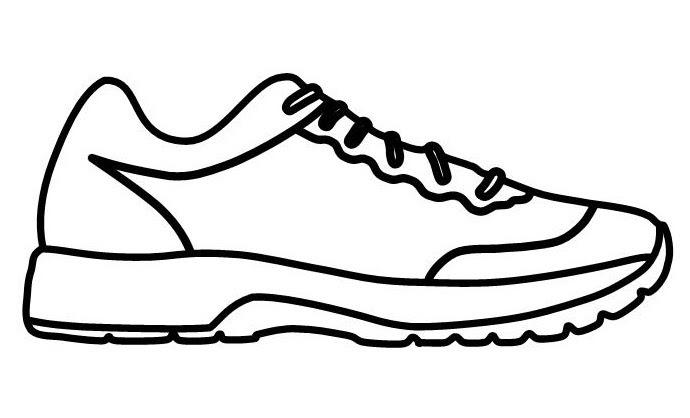 【Dernier】 Coloriage Chaussure De Sport