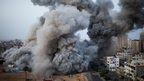 Israel maintains air strikes on Gaza and militants continue to fire rockets into Israel as the fifth day of unrest becomes the deadliest so far.