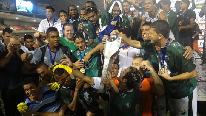 Coruripe campeão (Foto: Denilson Roma/GloboEsporte.com)
