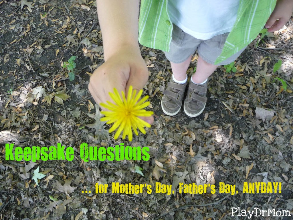 photo of: Keepsake Questions for Mother's day via PlayDrMom