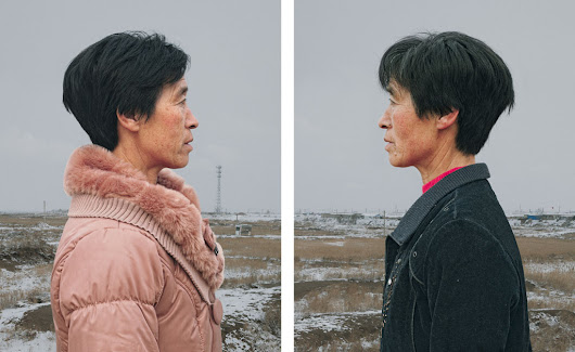 These photos of identical twins over the age of 50 show how different lives can become