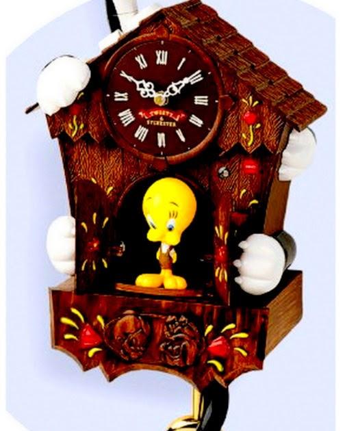 The Tweet Toy Shop Warner Bros Looney Tunes Sylvester And Tweety Bird Animated Talking Cuckoo