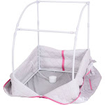 Costway Portable 2L Steam Sauna with Chair-Silver