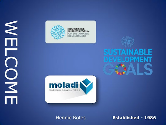 Moladi a tool to empower people to help themselves | Sustainable Deve…