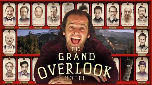 'The Grand Overlook Hotel', A Mashup of Wes Anderson's 'The Grand Budapest Hotel' & Stanley Kubrick's 'The Shining'
