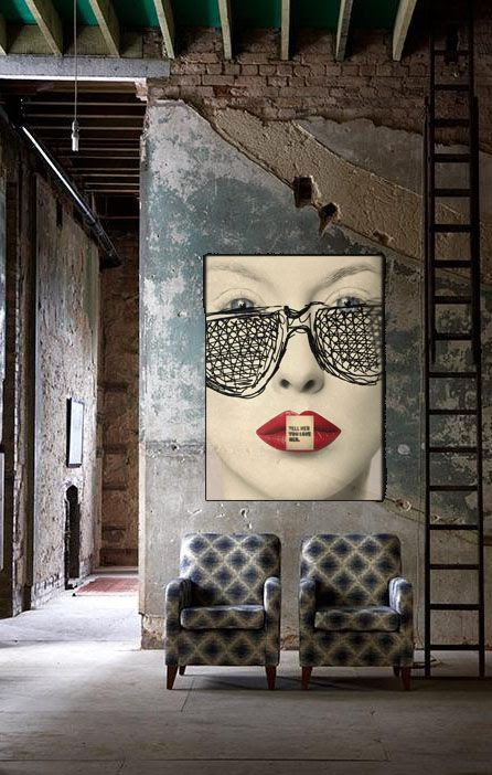Wall decor... 3 gorgeous pictures to tell you why art is a game changer
