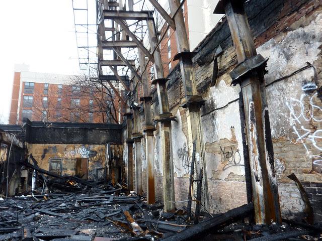 P1160381-2013-02-11--1137-Ponce-De-Leon-Ave-burndown-inside-west-section-billboard-posts