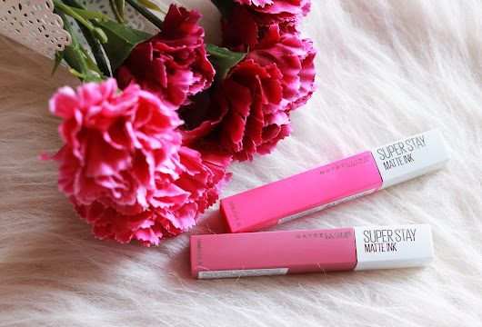 Maybelline Superstay Matte Ink Lover & Romantic - Review