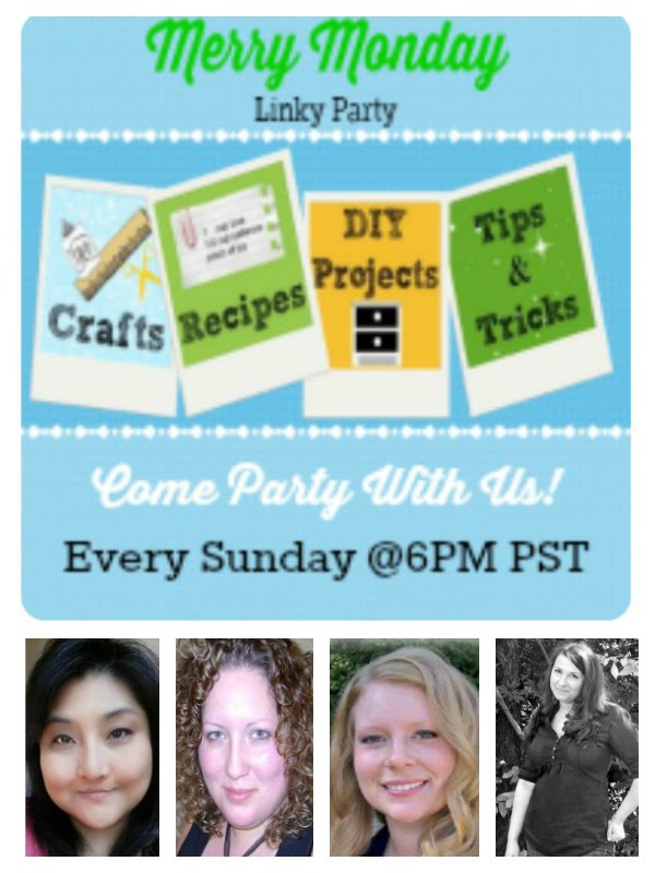 Merry Monday Link Party 36, blog party, link party, DIY link party, recipe link party