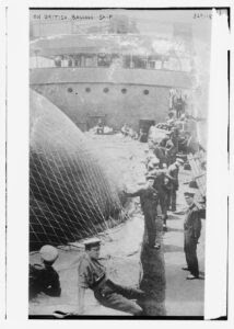 Title: On British Balloon ship Creator(s): Bain News Service, publisher Date Created/Published: [between ca. 1910 and ca. 1915]