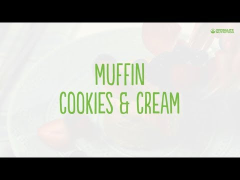 Muffin Cookies & Cream