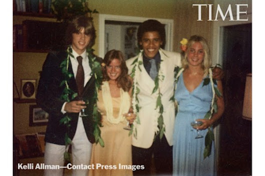 Photos: What Obama looked like on prom night