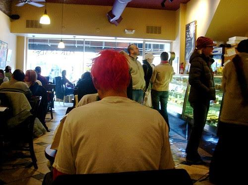 Café redhead